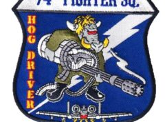 74th Fighter Squadron Patch – Sew On