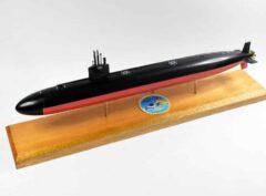 USS Key West (SSN-722) Submarine Model