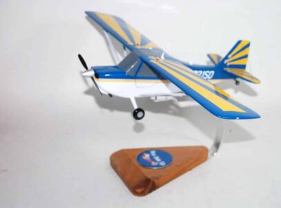 Super Decathlon N721SD (Blue and Yellow) Model