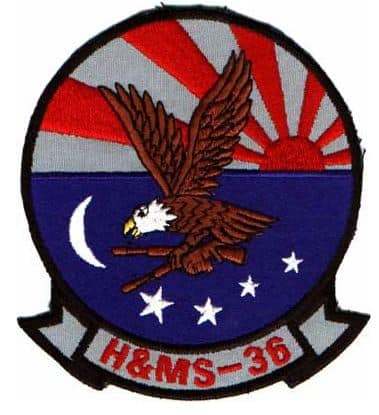 H&MS 36 Patch –Sew On