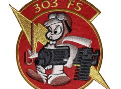 303rd Fighter Squadron Patch – Sew On