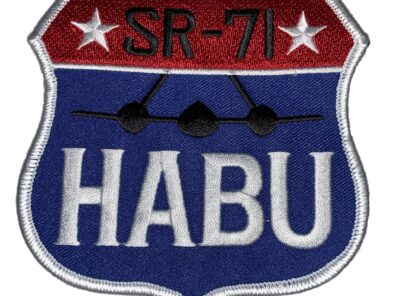 SR-71 HABU Patch – Sew On