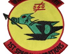 WITH THE GUTS TO TRY 1st Special Operations Squadron Patch – Sew On