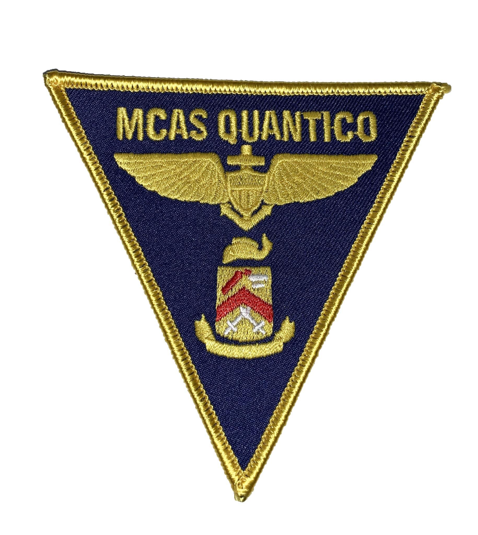 MCAS Quantico Patch – Sew On