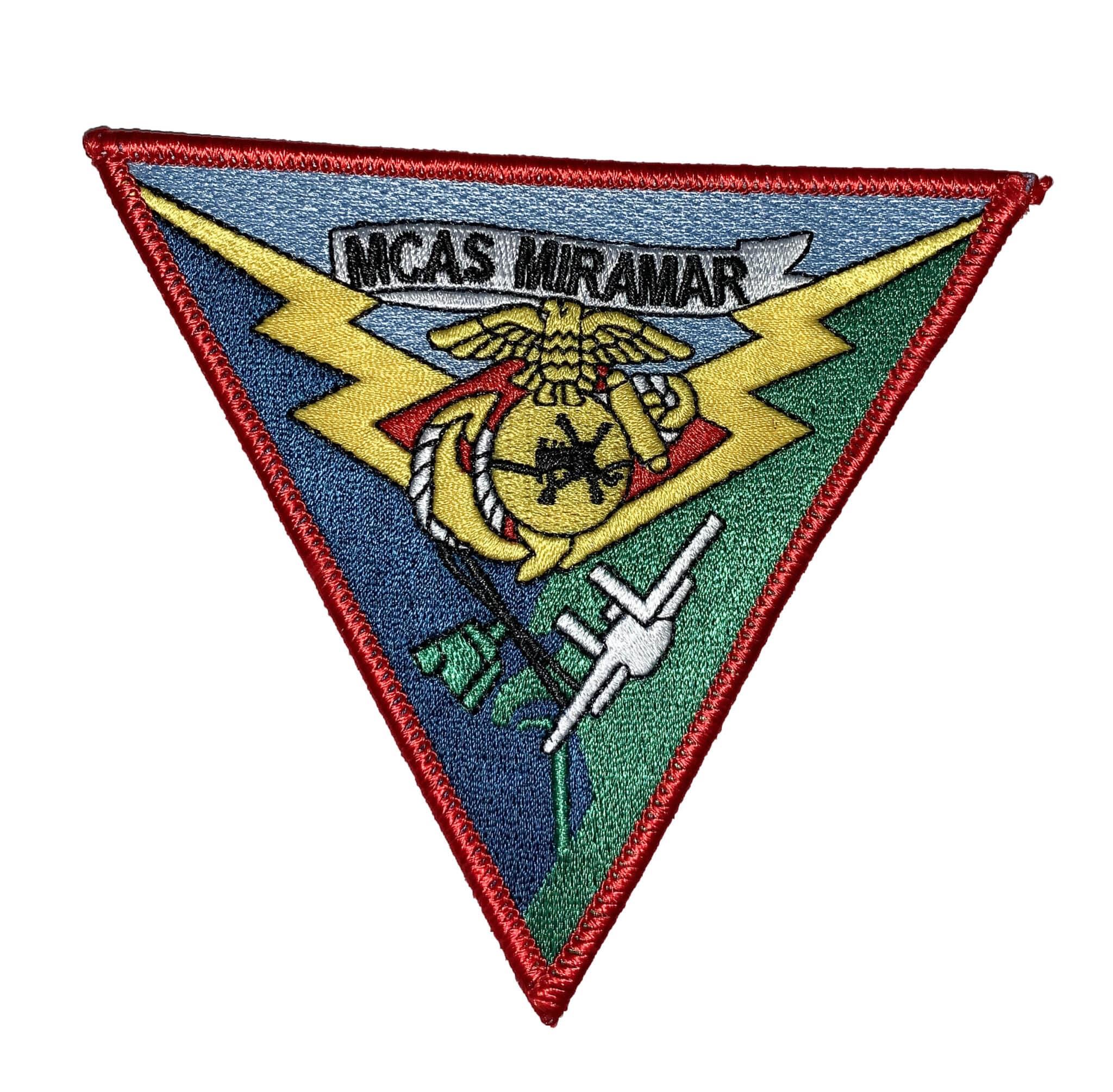 MCAS Miramar Patch – Sew On