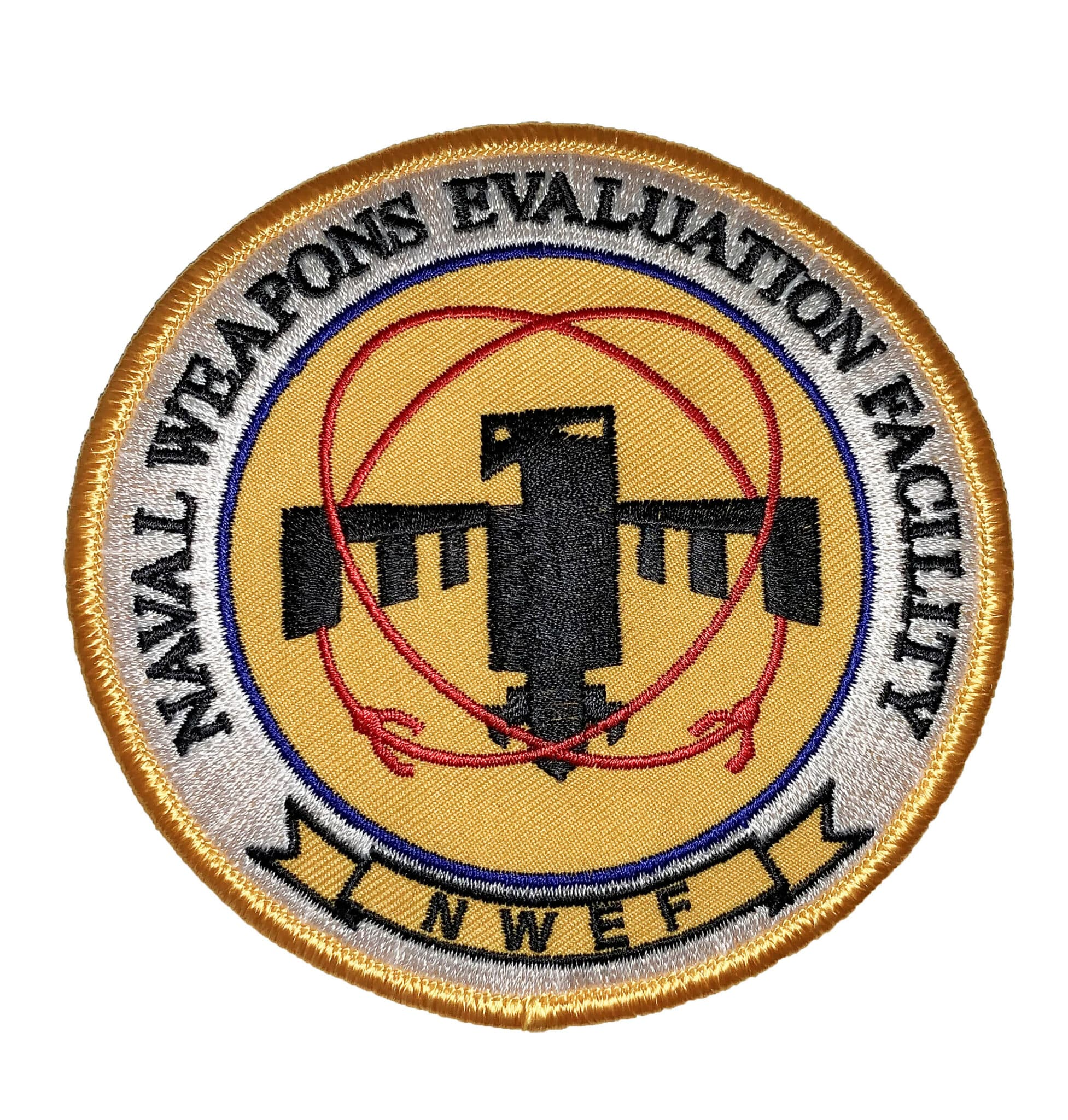 Naval Weapons Evaluation Facility (NWEF) Patch – Sew On
