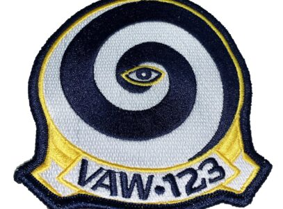 VAW-123 Screwtops Squadron Patch – Sew On