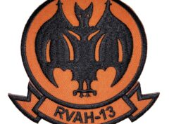 RVAH-13 Bats Squadron Patch – Sew On