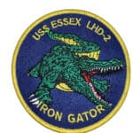 USS Essex Gator LHD-2 Patch – Sew On