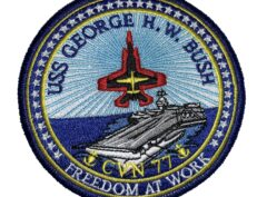 USS George H.W. Bush CVN-77 Patch – Sew On