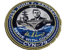 USS John F Kennedy CVN-79 Patch – Sew On