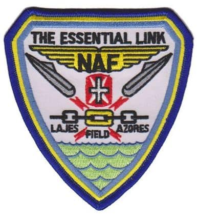 NAF Lajes Patch – Sew On