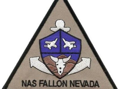 NAS Fallon Nevada Patch – Sew On