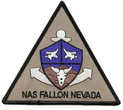 NAS Fallon Nevada Patch – Sew On