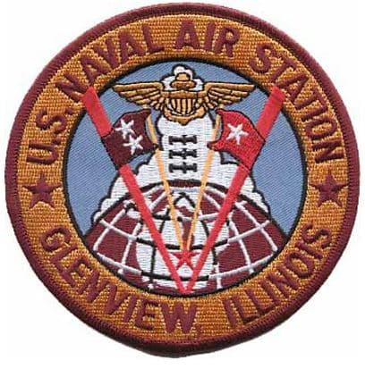 NAS Glenview Patch – Sew On