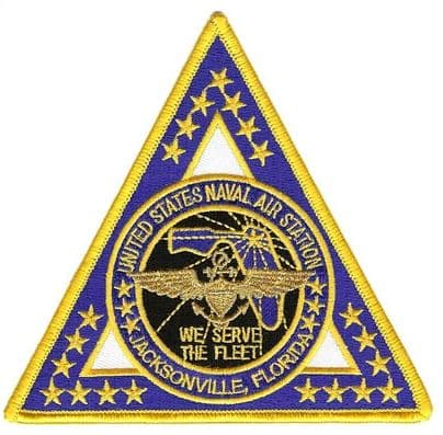 NAS Jacksonville Patch – Sew On