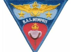 NAS Memphis Patch – Sew On