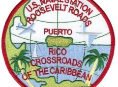 NAS Roosevelt Road Patch – Sew On