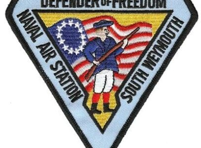 NAS South Weymouth Patch – Sew On
