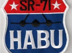 SR-71 HABU Patch – Sew On