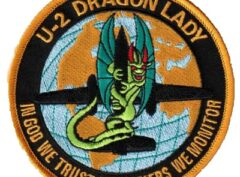U-2 DRAGON LADY Patch – Sew On