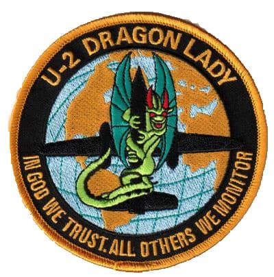 U-2 DRAGON LADY Patch – Sew On