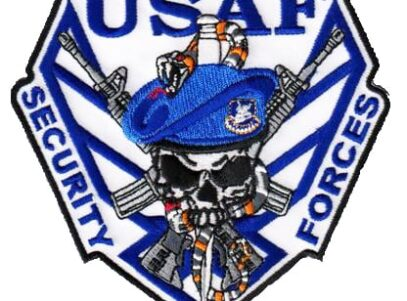 USAF Security Forces (1970s) Squadron Patch – Sew On
