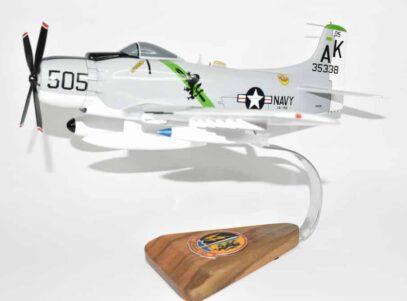VA-145 Swordsmen A-1H Skyraider Model