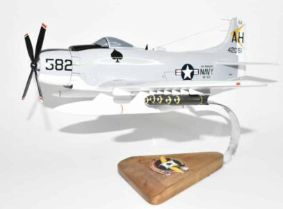 VA-152 Mavericks A-1H Skyraider Model