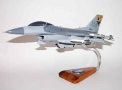 124th Fighter Squadron F-16 Fighting Falcon Model