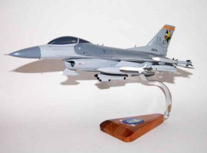 124th Fighter Squadron F-16 Fighting Falcon Model