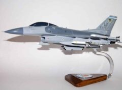 62d Fighter Squadron F-16 Fighting Falcon Model