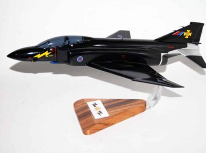 RAF Phantom Black Mike F-4 Model