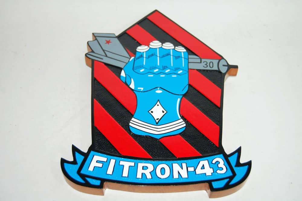 VF-43 Challengers Plaque