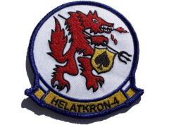 HAL-4 Red Wolves Squadron Patch – Sew On
