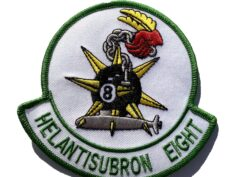 HS-8 Eightballers Squadron Patch – Sew On