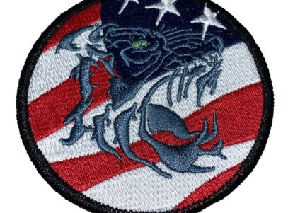 HSM-73 Battle Cats American Flag Patch – Sew On