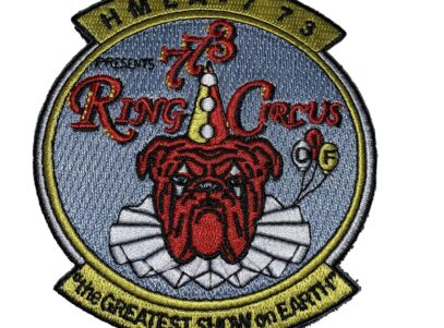 HMLA-773 Ring Circus Patch – Sew on