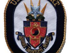 USS DE WERT FFG-45 Patch – Sew On