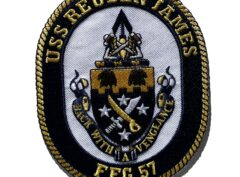 USS REUBEN JAMES FFG-57 Patch – Sew On