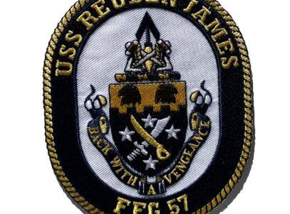 USS REUBEN JAMES FFG-57 Patch – Sew On
