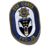 USS CURTS FFG-38 Patch – Sew On