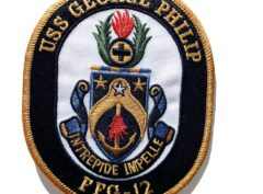USS GEORGE PHILIP FFG-12 Patch – Sew On