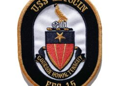 USS ESTOCIN FFG-15 Patch – Sew On