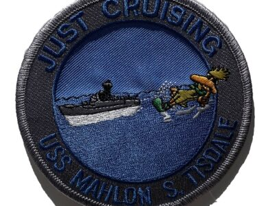 USS Mahlon S. Tisdale FFG-27 Patch – Sew On