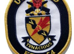 USS FORD FFG-54 Patch – Sew On
