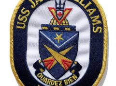4 inch patch of the USS Jack Williams FFG-24