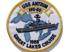 USS ANTRIM FFG-20 Patch – Sew On