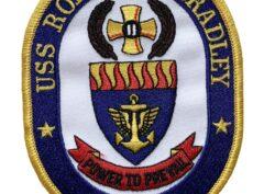 USS ROBERT G. BRADLEY FFG-49 Patch – Sew On
