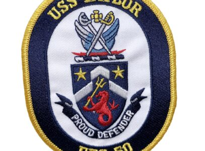 USS TAYLOR FFG-50 Patch – Sew On